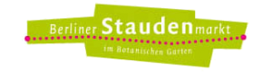Berliner Staudenmarkt im Botanischen Garten Dahlem