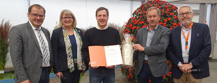 Preisverleihung - Ehrenpreis an Karsten Klimke´s Stauden-Gärtnerei